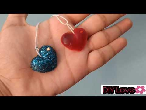 DIY Glue pendants with white glue,No hot glue||Super easy ||DIY Love