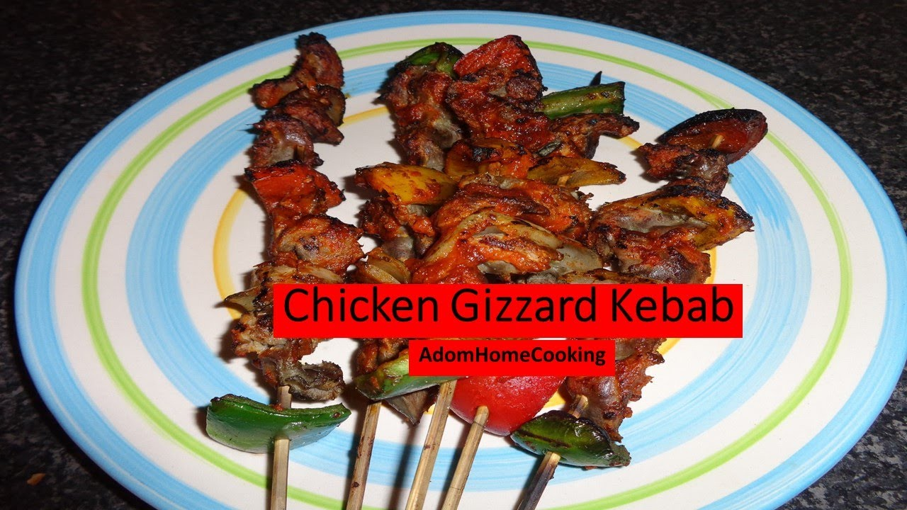 How to prepare chicken gizzard kebab youtube ccuart Choice Image