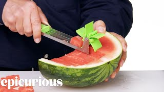 Download 7 Slicing Kitchen Gadgets Improved by Design Expert | Epicurious Mp3 and Videos