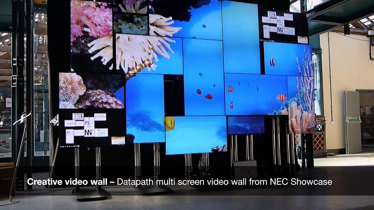 Red Solutions Ltd Datapath Multi Screen Video Wall Demo