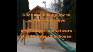 How To Build A Playhouse Out Of Pallets | Pallet Playhouse Plans