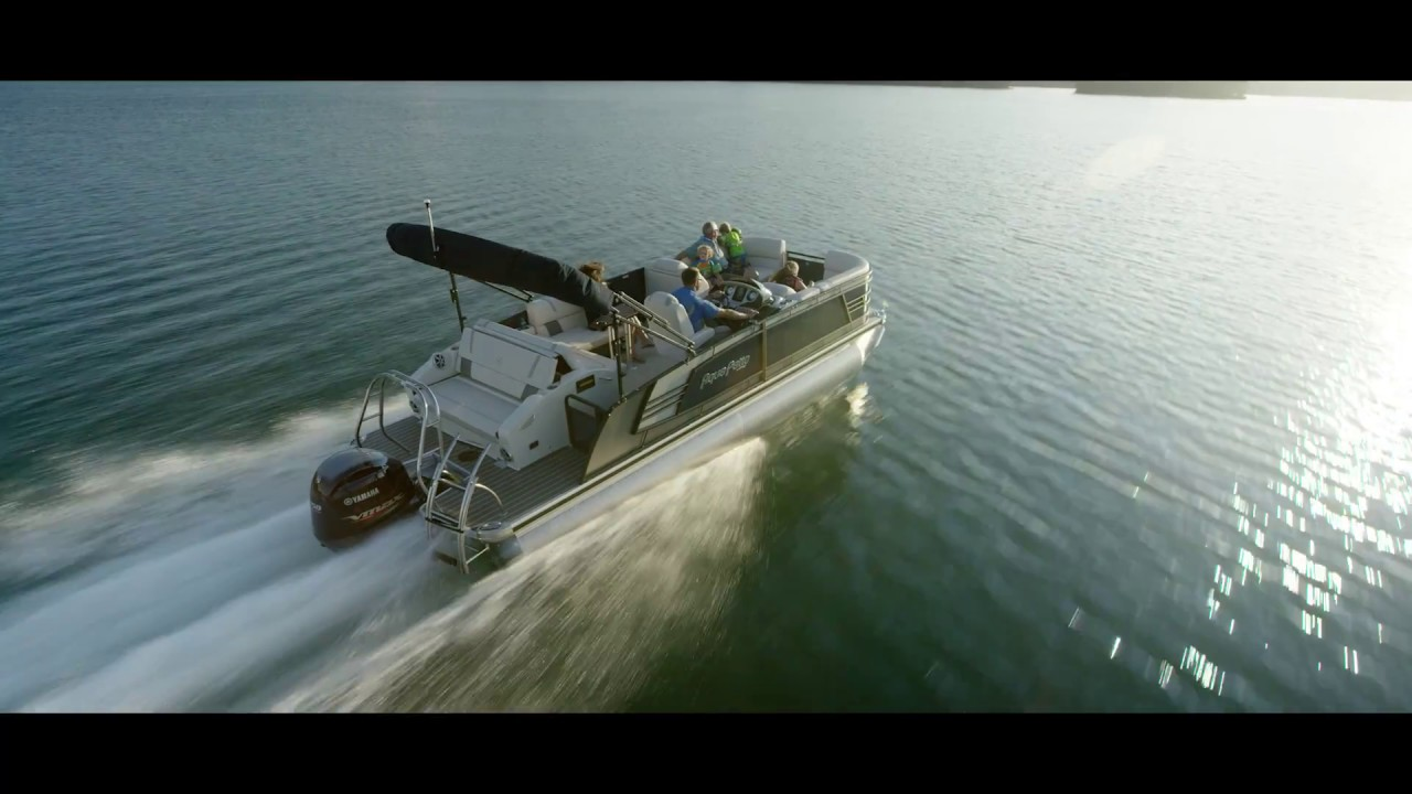 2017 Aqua Patio Pontoon Boats  Brand Video