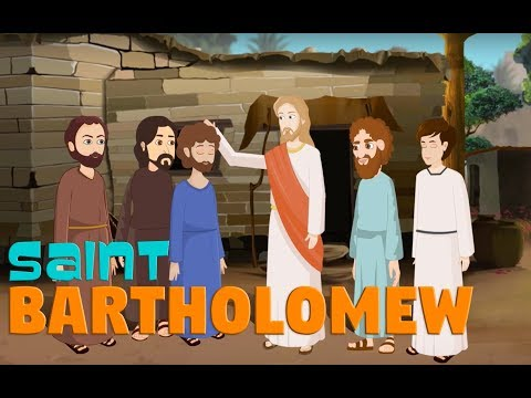 Story of Saint Bartholomew | English | Story of Saints For Kids