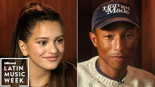Rosalía and Pharrell Williams Discuss Transcending Culture Globally | Billboard Latin Week