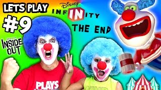 Jingles & Jangles Play DISNEY INFINITY 3.0 INSIDE OUT #9 + Scare Cam (FGTEEV Gameplay / Skit)