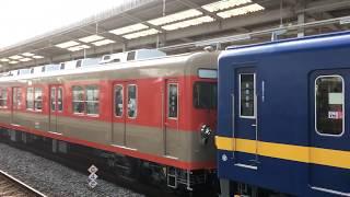 東武ファンフェスタ号2016 8111F+8198F 南栗橋駅発着シーン