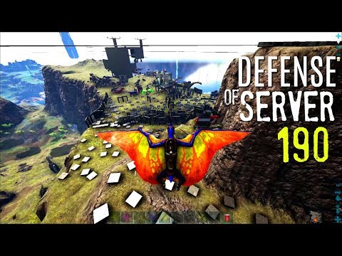 THE END OF 190? THE B&G DEFENSE - Official PVP (E79) - ARK Survival