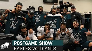 Philadelphia Eagles vs. New York Giants Postgame Show | 2019 Week 17