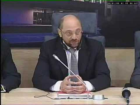 Martin Schulz, Chairman of Socialist Group in the European P