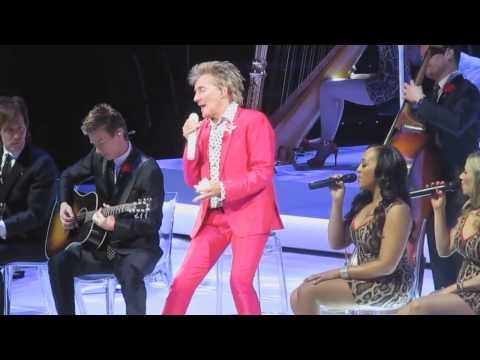 Rod Stewart - Boston TD Garden 04-dec-2013 Multicam