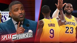 Cuttino Mobley joins Jason Whitlock and Marcellus Wiley on the show today to discuss Anthony Davis. Hear why he believes that sitting him for the season wouldn't be in the best interests of the New Orleans Pelicans moving forward. Plus, what did last night's win prove for the Lakers?  #SFY #NBA #Lakers #Celtics #AnthonyDavis  SUBSCRIBE to get all the latest content from Speak For Yourself: http://foxs.pt/SubscribeSPEAKFORYOURSELF   ►Watch the latest content from Speak For Yourself: https://foxs.pt/LatestOnSFY  ▶First Things First: Cris Carter and Nick Wright's YouTube channel: http://foxs.pt/SubscribeFIRSTTHINGSFIRST ►UNDISPUTED's YouTube channel: http://foxs.pt/SubscribeUNDISPUTED  ▶The Herd with Colin Cowherd's YouTube channel: http://foxs.pt/SubscribeTHEHERD   See more from Speak For Yourself: http://foxs.pt/SFYFoxSports Like Speak For Yourself on Facebook: http://foxs.pt/SFYFacebook Follow Speak For Yourself on Twitter: http://foxs.pt/SFYTwitter  Follow Speak For Yourself on Instagram: http://foxs.pt/SFYInstagram  Follow Jason Whitlock on Twitter: @WhitlockJason Follow Marcellus Wiley on Twitter: @MarcellusWiley    About Speak For Yourself: Speak for Yourself is an hour and a half sports debate show starring Jason Whitlock and Marcellus Wiley on FS1. Every day, Jason Whitlock and Marcellus Wiley will debate the day's hottest topics in sports and offer their unfiltered takes.  Cuttino Mobley talks Lakers win vs. Celtics & Pelicans shouldn't sit AD | NBA | SPEAK FOR YOURSELF https://youtu.be/w09RTD1A1Ro  Speak For Yourself https://www.youtube.com/c/SFY