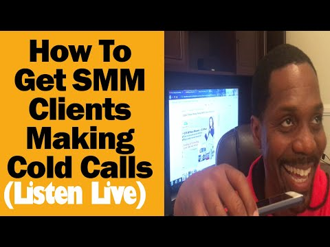Live Cold Calling Get Social Media Marketing Clients! (Closed My