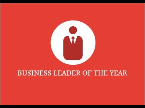 2017 Business Leader of the Year Award