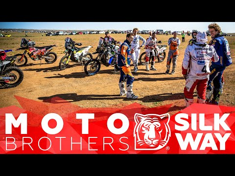 The Benavides brothers went on the Silk Way Rally on different bikes and played or different teams 🌏