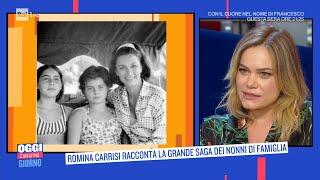 Download Romina Carrisi: la grande saga dei nonni di famiglia - Oggi è un altro giorno - 08/06/2021
