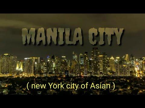 Manila city 2020, Drone Footage Capital city of Philippines