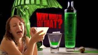 The Green Fairy aka Absinthe - Why Would You Eat That?