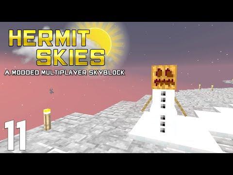 ►FALSE NEEDS SPIRIT! | Hermit Skies #11 | Modded Minecraft◄