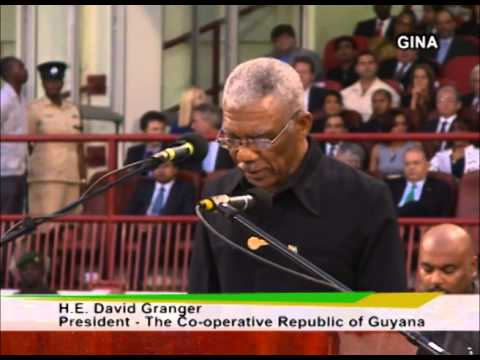 Guyana's 8th Executive President Inaugurated