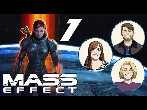 Mass Effect #1 | CREATING THE COMMANDER