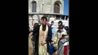 видео Церковь Знамения Пресвятой Богородицы в Дубровицах. Путешествие по Московской области, город Подольск, Дубровицы