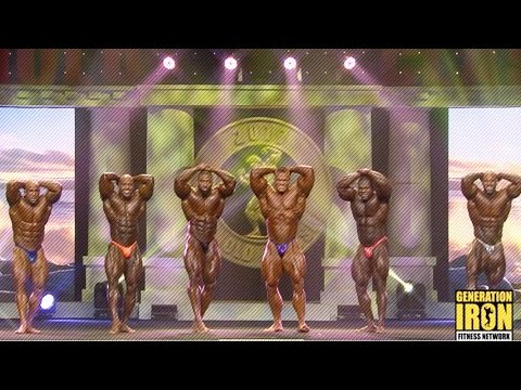 Arnold Classic 2017 Top 6 Comparisons & Posedown | Generation Iron