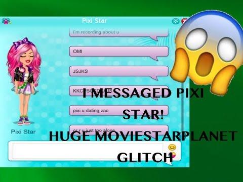 I MESSAGED PIXI STAR!!!!1!!!11 *HUGE MSP GLITCH*