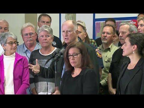 Remarks by Gov. Jerry Brown After Tour of SoCal Fire Devastation