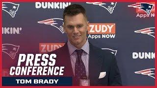"""Tom Brady on Sony Michel's touchdown: """"He ran hard"""" Video"""