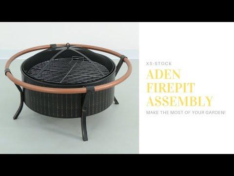 Azuma Aden Fire Pit Assembly