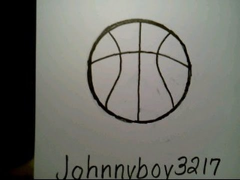 How To Draw A Basketball como dibujar una pelota de ...