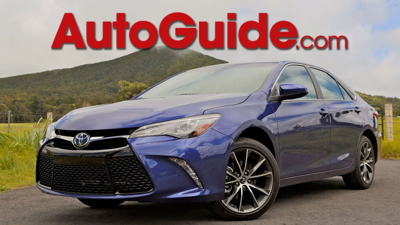 2015 Toyota Camry Review First Drive Youtube