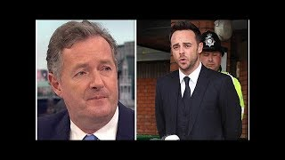 Ant McPartlin news: Piers Morgan says Ant and Dec star 'doesn't deserve sympathy'