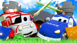 Humpty Dumpty Nursery Rhymes Songs for Children with Trucks of Car City
