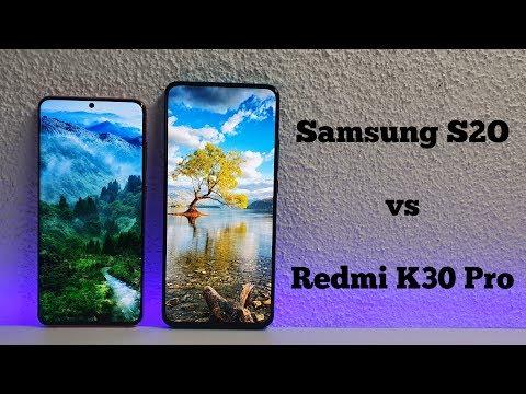 Redmi K30 Pro/Poco F2 Pro vs Samsung S20 Camera comparison/Screen/Size/Sound Speakers/Design!