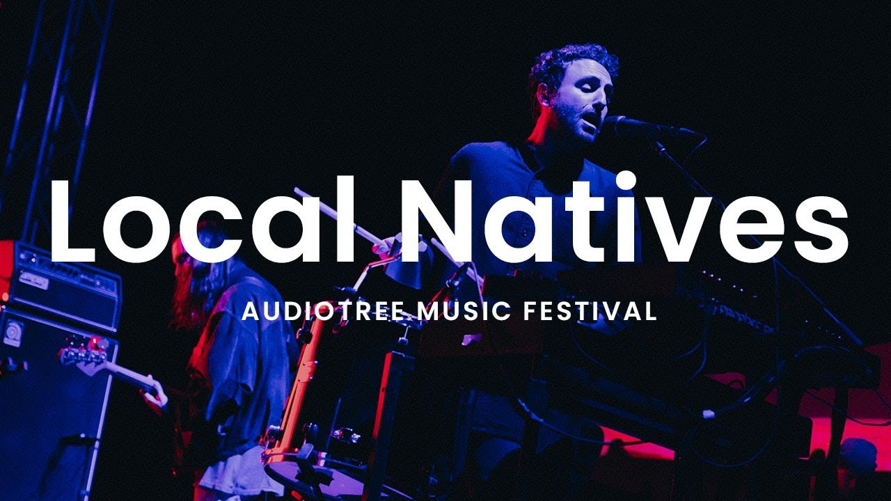 Local Natives - Coins   Audiotree Music Festival 2018