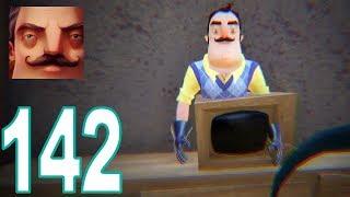 Hello Neighbor - My New Neighbor TV Granny Act 1 Gameplay Walkthrough Part 142