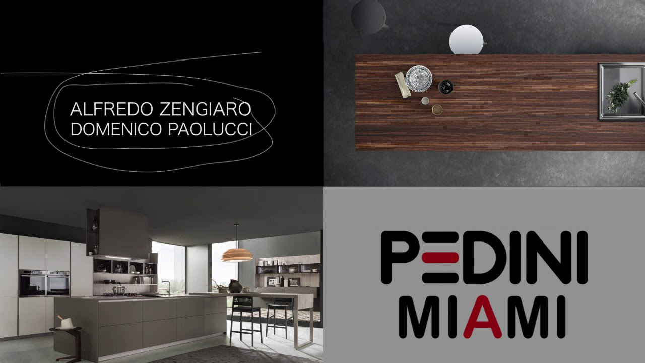 Pedini kitchen collection arkÉ materika youtube