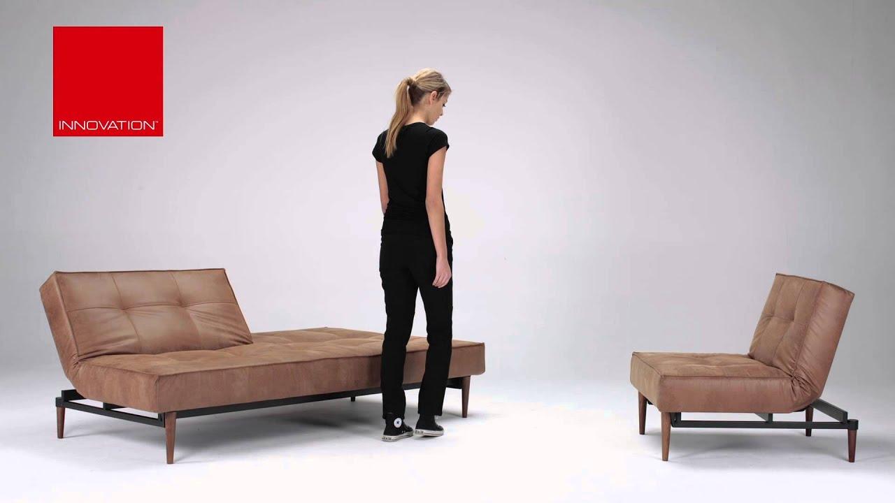 innovation splitback wood mit textilleder bezug und dicker. Black Bedroom Furniture Sets. Home Design Ideas