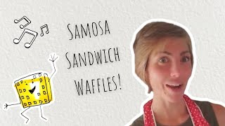 "Samosa Sandwich Waffles and the musical ""Fame"""