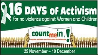 16 Days of Activism for No Violence Against Women and Children 2014