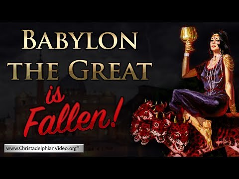 'Babylon the Great is Fallen' Revelation 18:2 - Prophecy being fulfilled NOW!