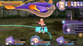 Hyperdimension Neptunia Re;Birth 1 PC Risky Boss: Whale Child