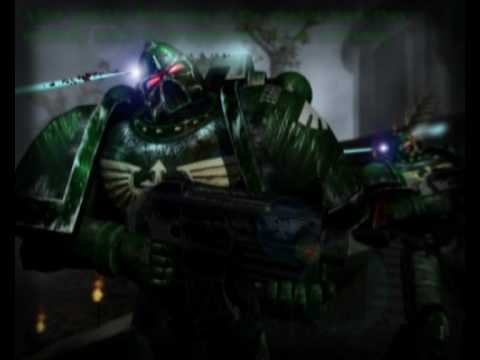 Warhammer 40k animation-Dark Angel battle