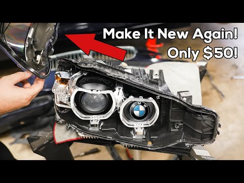 The Ultimate BMW Headlight Lens Replacement Guide