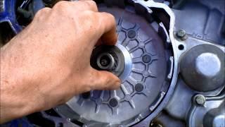 Fix a sticky motorcycle clutch