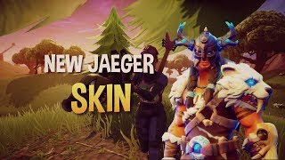 NEW JAEGER SKIN* FREE FREE* MOBILE VIDEO (FORTNITE BATTLE ROYALE)