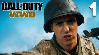 CALL OF DUTY WW2 Прохождение Часть 1 ► СЮЖЕТ ► КАМПАНИЯ ► ВТОРАЯ МИРОВАЯ ВОЙНА ► СМЕРТЬ [ПК 60fps]