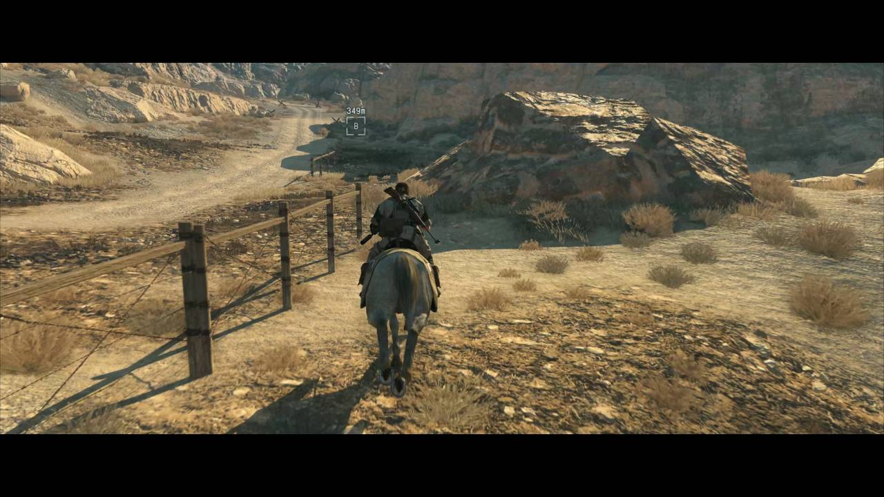 Metal Gear Solid V The Phantom Pain 21:9 Ultrawide