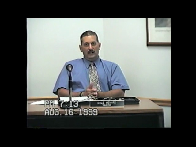 Rouses Point Village Board Meeting  8-16-99